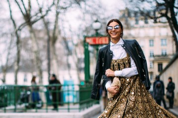 Paris Fashion Week Street Style Fall 2018 Day 1 Cont.