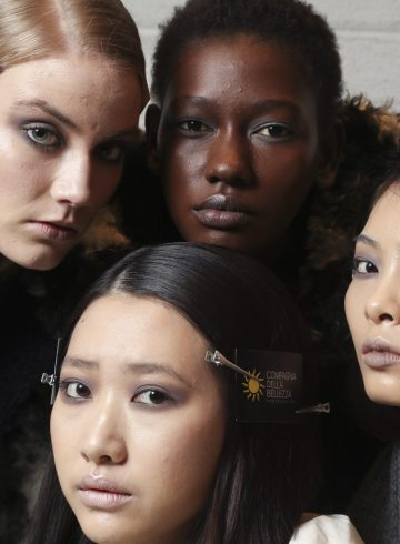 Alberto Zambelli Fall 2018 Fashion Show Backstage Beauty