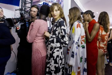 H&M Spring 2018 Fashion Show Backstage