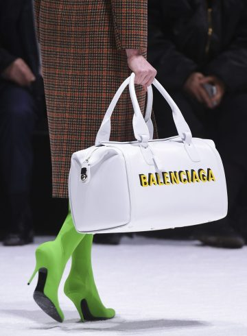 Balenciaga Fall 2018 Fashion Show Details
