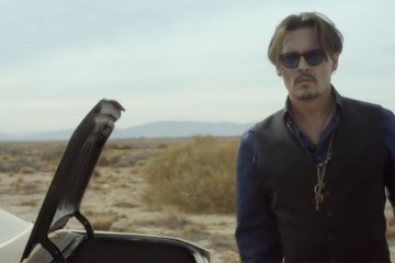 Dior Sauvage Fragrance 2018 Film starring Johnny Depp
