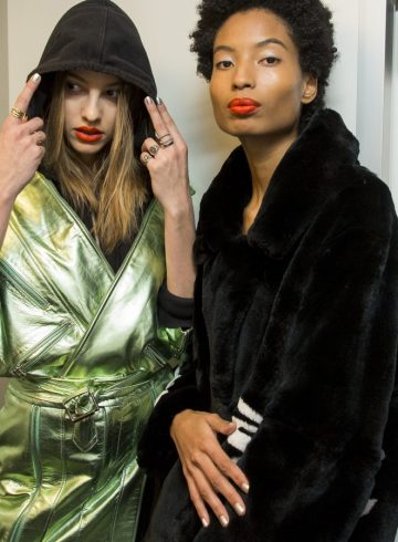 Each X Other Fall 2018 Fashion Show Backstage