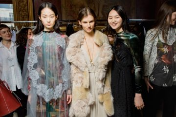 Stella McCartney Fall 2018 Fashion Show Backstage