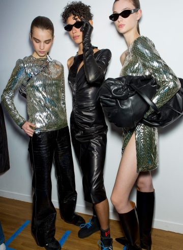 Off-White Fall 2018 Fashion Show Backstage