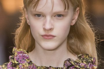 Giambattista Valli Fall 2018 Fashion Show Beauty