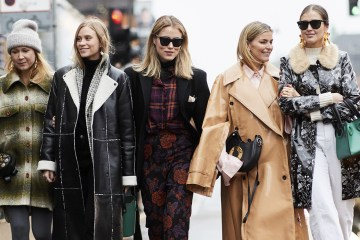 Copenhagen Fashion Week Street Style Fall 2018 Day 1