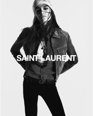 Kaia-Gerber-Saint-Laurent-Fall-2018-Campaign-the-impression-3