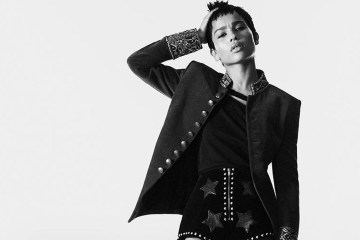 Saint Laurent Fall 2018 Campaign with Zoë Kravitz