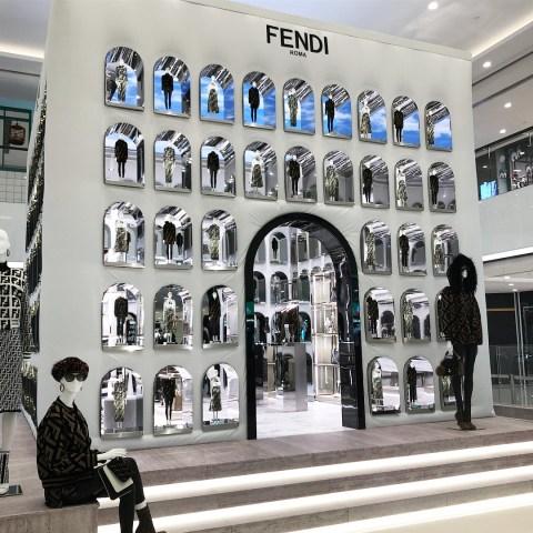 Fendi-pop-up-FF Reloaded-Dubai-Mall-the-impression