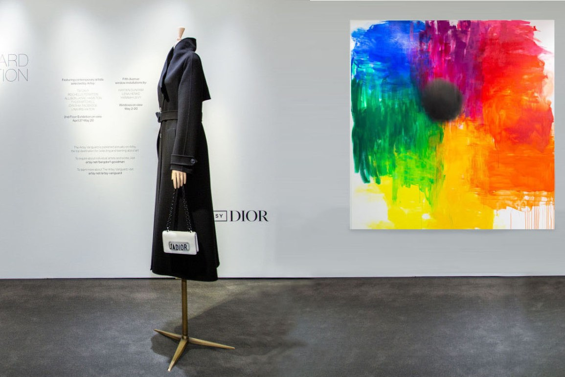 Dior and Artsy celebrate artist installations at Bergdorf Goodman