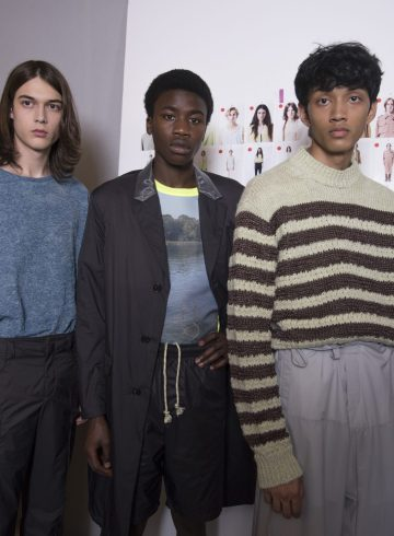 Acne Studios Spring 2019 Men's Backstage