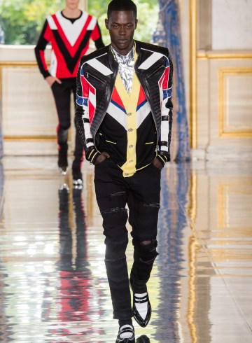 Balmain Spring 2019 Men's Fashion Show