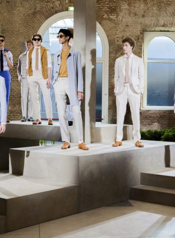 Canali Spring 2019 Men's Fashion Show