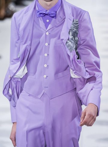 Comme Des Garcons Spring 2019 Men's Fashion Show Details