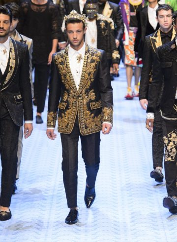 Dolce & Gabbana Spring 2019 Men's Fashion Show