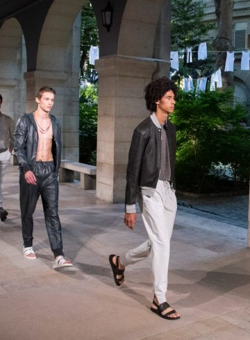 Hermes Spring 2019 Men's Fashion Show Atmosphere