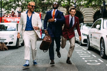 London Men's Street Style Fall 2019 Day 2