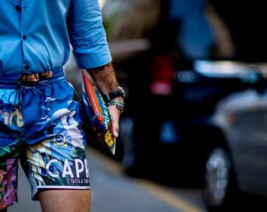 Milan Men's Street Style Spring 2019 Day 1