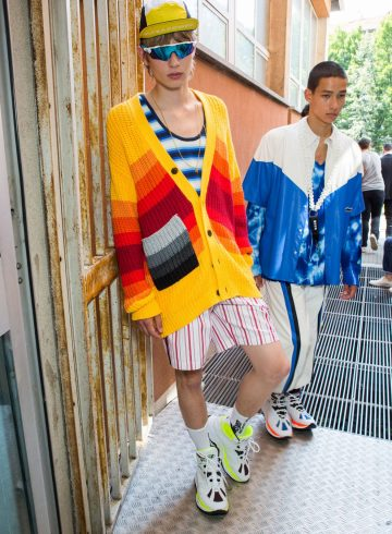 MSGM Spring 2019 Men's Fashion Show Backstage