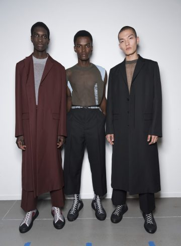 Oamc Spring 2019 Men's Fashion Show Backstage