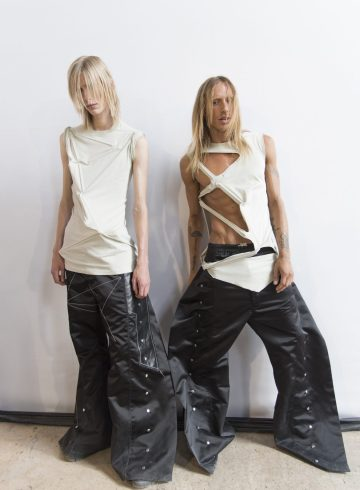 Rick Owens Spring 2019 Men's Fashion Show Backstage