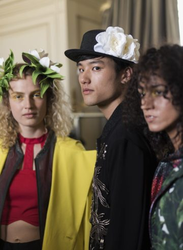Rynshu Spring 2019 Men's Fashion Show Backstage