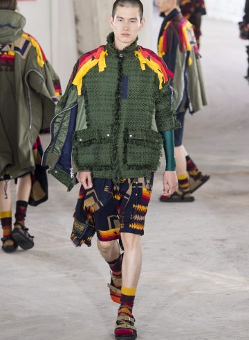 Sacai Spring 2019 Fashion Show Men's