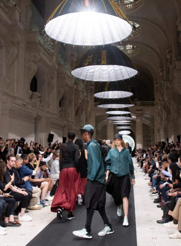 Y-3 Spring 2019 Men's Fashion Show Atmosphere