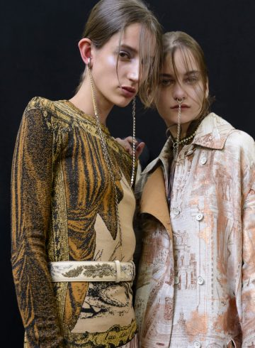 Acne Studios Spring 2019 Fashion Show Backstage