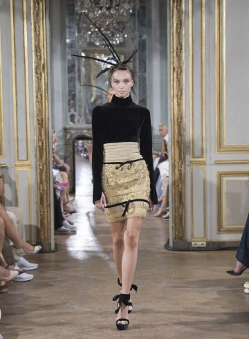 Celia Kritharioti Fall 2018 Couture Fashion Show