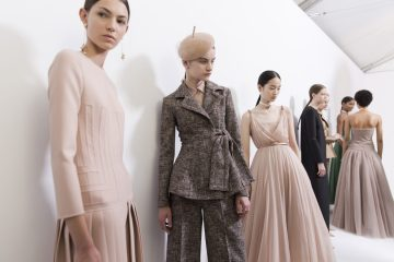 Christian Dior Fall 2018 Couture Fashion Show Backstage