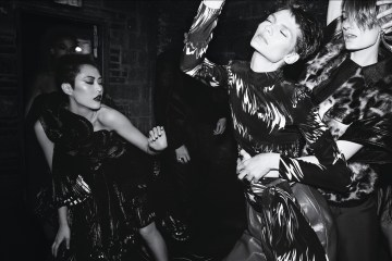 Givenchy Fall 2018 Ad Campaign by Steven Meisel and Patrick Li
