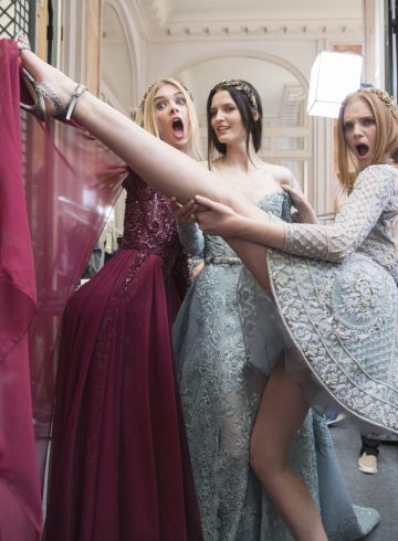 Zuhir Murad Fall 2018 Couture Fashion Show Backstage