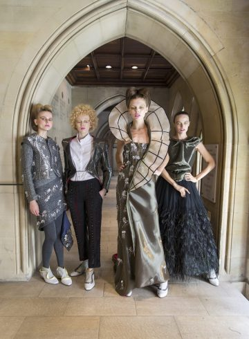 Antonio Ortega Fall 2018 Couture Fashion Show Backstage