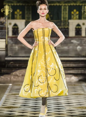 Antonio Ortega Fall 2018 Couture Fashion Show