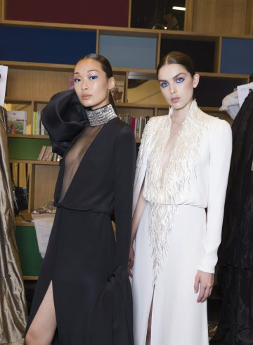 Stephane Rolland Fall 2018 Couture Fashion Show Backstage