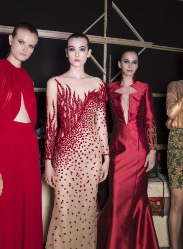Rani Zakhem Fall 2018 Couture Fashion Show Backstage