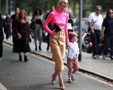 Milan Fashion Week Street Style Spring 2019 Day 4