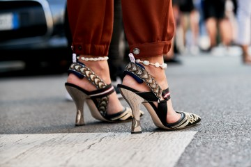 Milan Fashion Week Street Style Accessories Spring 2019 Day 3