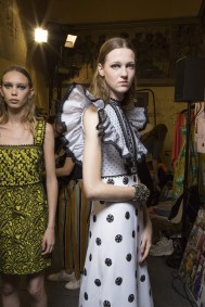 Andrew Gn Spring 2019 Fashion Show Backstage