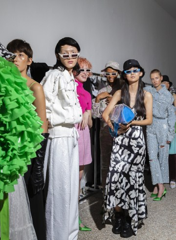 Annakiki Spring 2019 Fashion Show Backstage