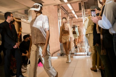 Courreges Spring 2019 Fashion Show Atmosphere