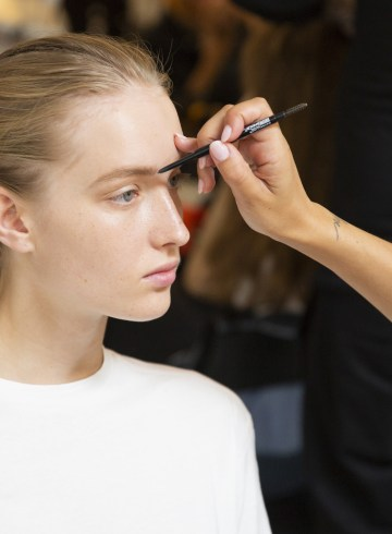 Dion Lee Spring 2019 Fashion Show Backstage Beauty