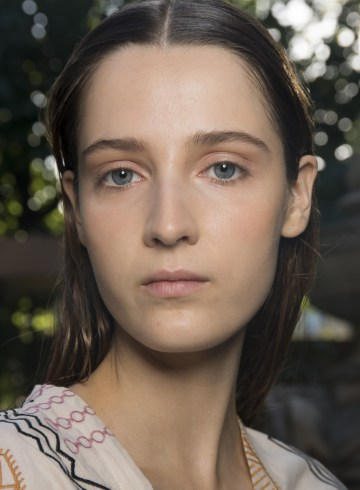 Eudon Choi Spring 2019 Fashion Show Backstage Beauty