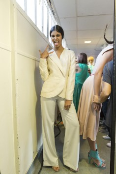 Fatima Lopes Spring 2019 Fashion Show Backstage