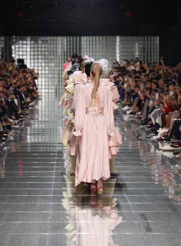 Marc Jacobs Spring 2019  Fashion Show Atmosphere