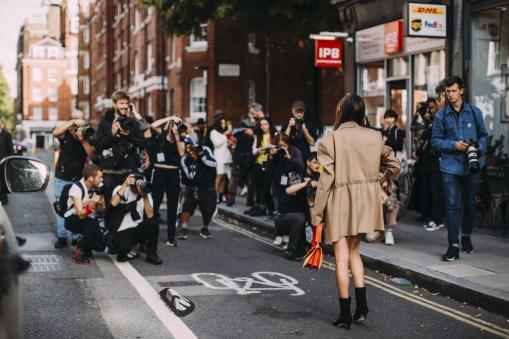London Fashion Week Street Style Spring 2019 Day 2