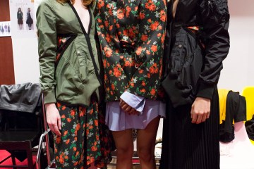 Lutz Huelle Spring 2019  Fashion Show Backstage