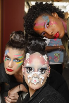 Manish Arora Ter Spring 2019 Fashion Show BackstageBeauty Cont.