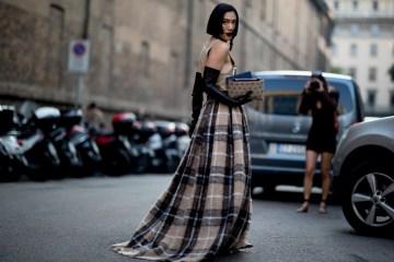 Milan Fashion Week Street Style Spring 2019 Day 1